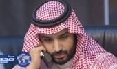ولي العهد يتلقى اتصالًا هاتفيًا من رئيس تشاد