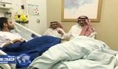 رئيس النصر يزور الأسطاء بعد خروجه من الملاحظة الطبية