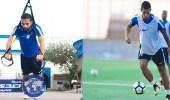 بالصور.. لاعبو الهلال يجرون تدريبا استرجاعيا
