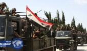 """الجيش السوري يسيطر على الطريق السريع بين """" دمشق """" و """" دير الزور """""""