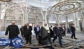 بالصور.. الشيخ محمد العيسى يزور المركز الثقافي الإسلامي بروما