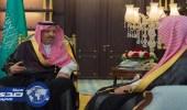 بالصور.. أمير الباحة يستقبل رئيس المحكمة الإدارية بالمنطقة