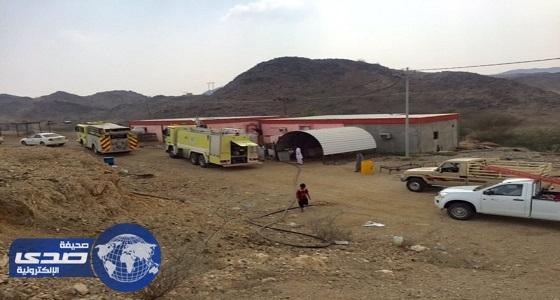 مواطنون ينقذون عائلة من الحريق في مكة