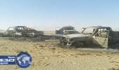 الجيش المصري يدمر 10 سيارات محملة بالأسلحة قادمة من ليبيا