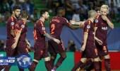 مدافع برشلونة: سبورتينج كان خصما صعبا