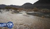 بالصور.. مدني المدينة: هطول أمطار رعدية غزيرة