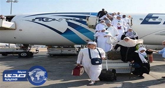 مطار القاهرة: عودة 5540 حاجاً اليوم على متن 24 طائرة مع بدء الجسر الجوي