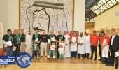 بالصور.. مركز الملك عبدالله لرعاية المعوقين يحتفل باليوم الوطني