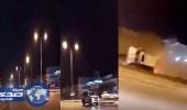 بالفيديو.. تفحيط بسيارة جيب لاند كروزر ينتهي بحادث مروع