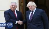 وزير الخارجية الأمريكي ونظيره البريطاني يبحثان التجربة النووية لكوريا الشمالية