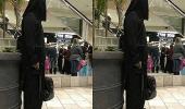 رجل بزي داعش يثير زعر في مجمع تجاري بأمريكا
