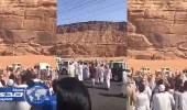 بالفيديو.. مواطن يتنازل عن قاتل ابنه في ساحة القصاص بالعلا