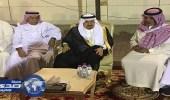 صور.. الأمير فيصل بن بندر يقدم العزاء لأسرة الفريق المطيري
