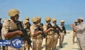 """بالصور.. اختتام مناورات """" جسر 18 """" بين القوات البحرية السعودية البحرينية"""