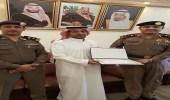 مساعد مدير مدني الباحة يكرم قائد مدرسة ومعلم ساهما في إخلاء ٤٩٢ طالبًا