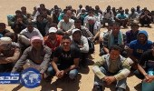 حرس الحدود المصري يحبط محاولة هجرة غير شرعية إلي ليبيا