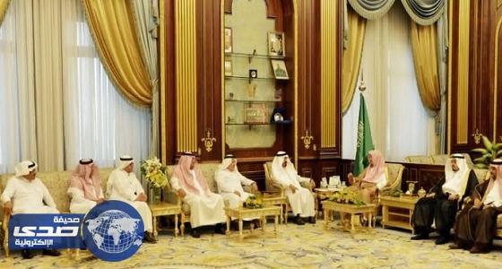 رئيس مجلس الشورى يستقبل عدداً من الإعلاميين والكتاب
