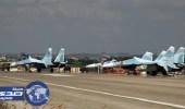تحطم مقاتلة روسية في مطار حميميم السورية