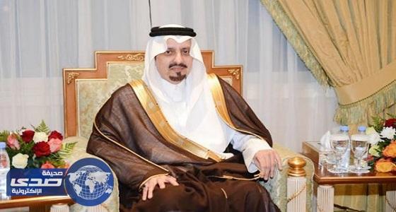 أمير عسير يقدم واجب العزاء لأسرة آل ضبعان