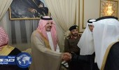 بالصور.. أمير حائل يستقبل المواطنين والمسئولين