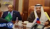 بالصور.. الفالح يجتمع مع وزير الصناعة والتجارة الروسي