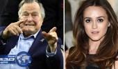 رئيس أمريكي سابق يعتذر عن التحرش بممثلة أثناء التقاط صورة