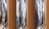 بالفيديو.. كاميرا خفية في مطعم شهير توثق شىء غريب