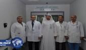 استئصال ورم سحائي بقاع الجمجمة لفلسطيني بمدينة الملك عبدالله الطبية