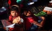 بالصور.. الروهينجا يتعلمون حفظ القرآن فى مخيمات اللاجئين