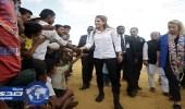بالصور.. ملكة الأردن تزور مسلمى الروهينجا ببنجلاديش