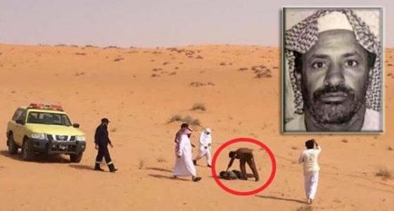 التفاصيل الكاملة للعثور على مفقود مات عطشًا في قلب صحراء بقعاء