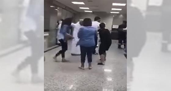 سعودية تتورط في مشاجرة جماعية بالكويت