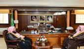 مدير شرطة تبوك يستقبل مدير فرع هيئة الأمر بالمعروف