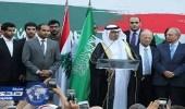 افتتاح جادة في طرابلس اللبنانية تزدان باسم الملك سلمان