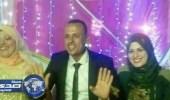 بالصور.. امرأة تحضر حفل زفاف زوجها على عروسه الجديدة