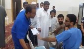 بالفيديو.. تطعيم المصلين ضد الإنفلونز في مسجد بالرياض
