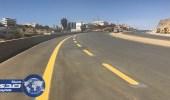 """بالصور.. تشغيل """" جسر الباحة """" المتقاطع مع الطريق الدائري الأسبوع المقبل"""