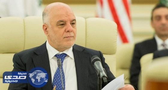 العبادي عن تصريح تيلرسون: لا يحق لأي جهة التدخل في الشأن العراقي