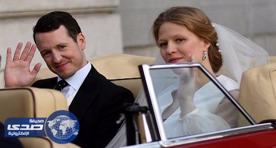 بالصور.. حفل زفاف الأمير فيليب بصريبا