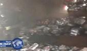 مفاجأة في حريق عمارة جازان.. اكتشاف جثث مكبلة وعارية