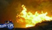 """قنصلية المملكة في """" لوس أنجلوس """" تحذر المواطنين من الحرائق"""