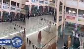 بالفيديو.. معلم يفحط داخل مدرسة في الدمام