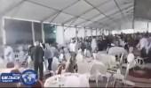 """بالفيديو.. معركة بالصحون والكراسي في مؤتمر """" الاستقلال المغربي """""""