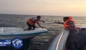 إنقاذ 4 مواطنين من الغرق في عسير