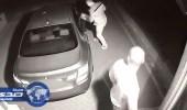 بالفيديو.. لص محترف يسرق سيارة فارهة في 60 ثانية