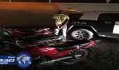 صور.. شرطة مكة تضبط 130 دراجة نارية و60 مخالفا