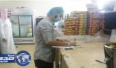 بالصور.. إغلاق 3 منشآت غذائية مخالفة وإتلاف 300 كجم أغذية فاسدة بنجران