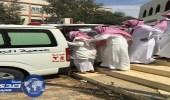 """بالصور.. تشييع جثمان رئيس بلدية القرى """" الزهراني """""""
