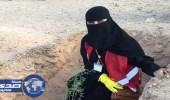 زراعة ألف شجرة محلية في منتزه حريملاء الوطني