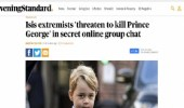 داعش يهدد الأمير جورج والاستخبارات البريطانية تكثف إجراءاتها